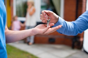 Key handover, Muir Homes buying guide, how to buy a new home, your step by step guide to buying a new home