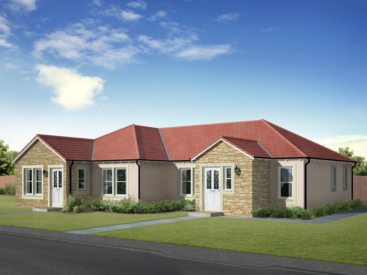 Bungalow for sale brodick housetype muir homes for Bungalow style homes for sale