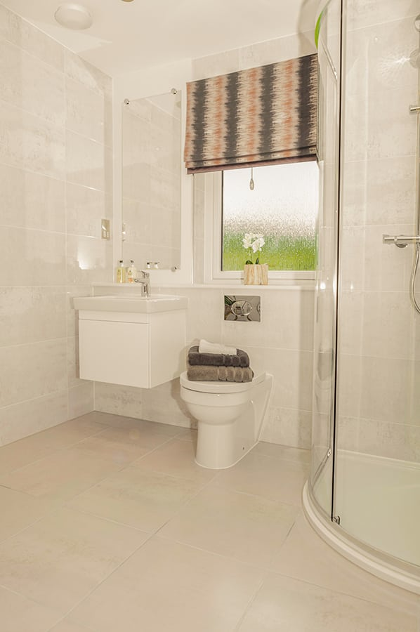 Bathroom at Blairs Royal Deeside New Homes For Sale In Aberdeen