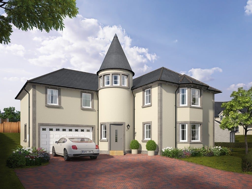 Blairs Royal Deeside Detached Houses For Sale Aberdeen