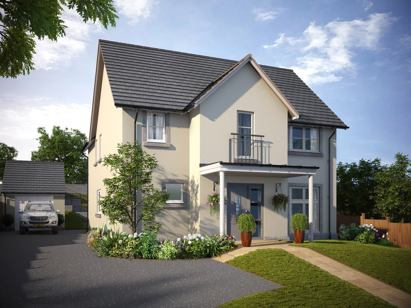 5 bedroom home in royal deeside the delgatie muir homes for New homes to build