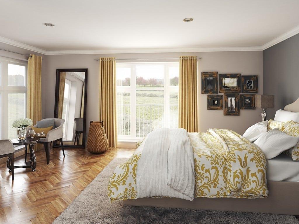 Blairs Royal Deeside, bedroom. Houses for sale in Aberdeen