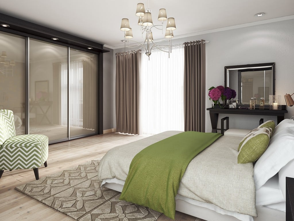 New homes in Aberdeen - bedroom at Blairs