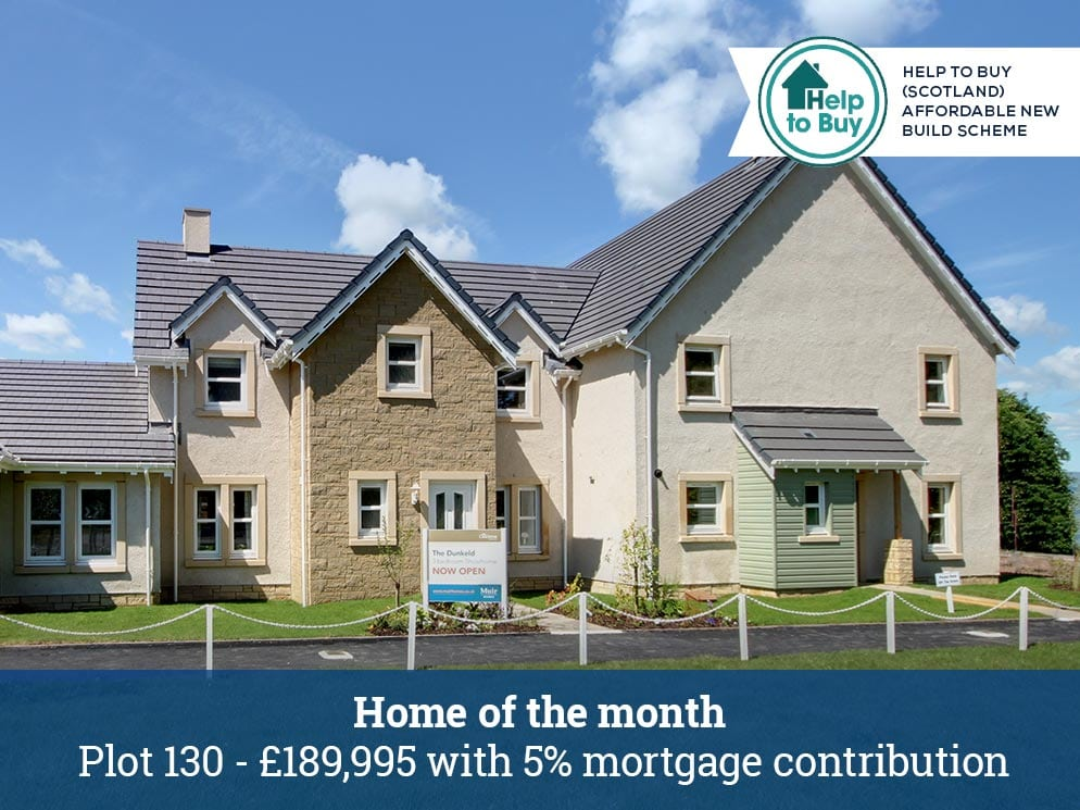 new homes auchterarder