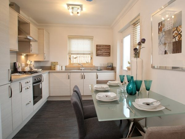 The Fraser - 2 bed end terrace bungalow
