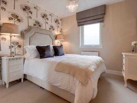 Bedroom at Castlefleurie