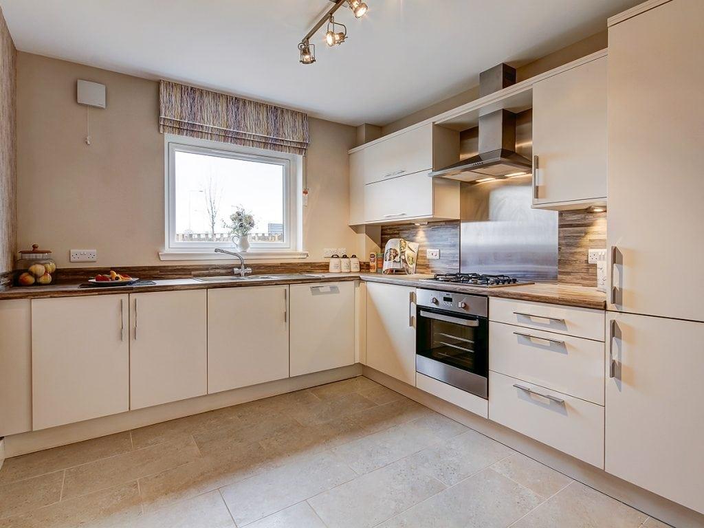 kitchen at castlefleurie