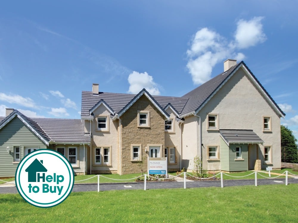 New build homes in Auchterarder