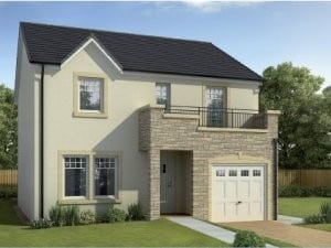 new home of the month in auchterarder