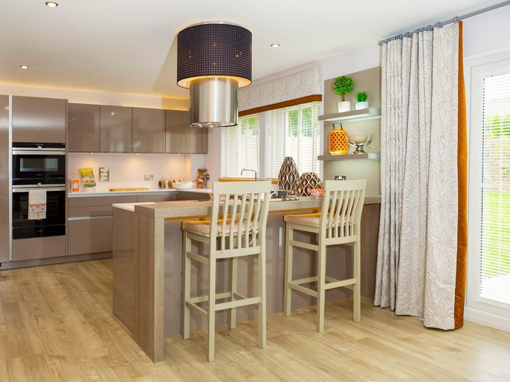 Kitchen at Blairs Royal Deeside New Homes For Sale In Aberdeen