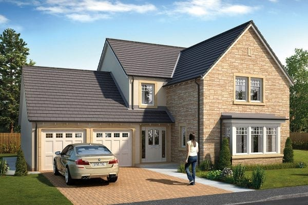 The Errol Showhome at The Grange Laurencekirk