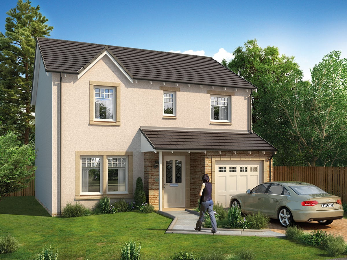 Gigha 4-Bedroom Home in Anstruther, Fife