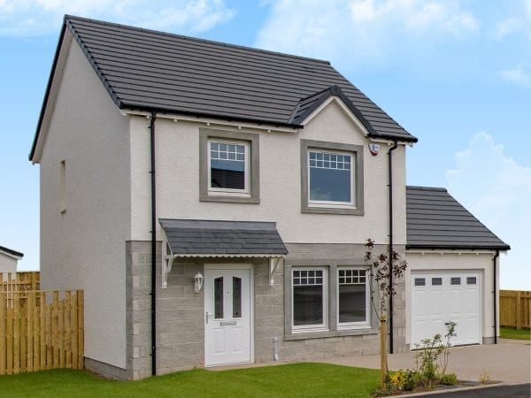 Detached 3-Bedroom Home in Laurencekirk