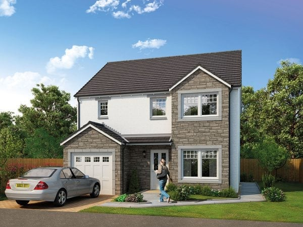 Wemyss 10 - 4-Bedroom Detached Home in Laurencekirk