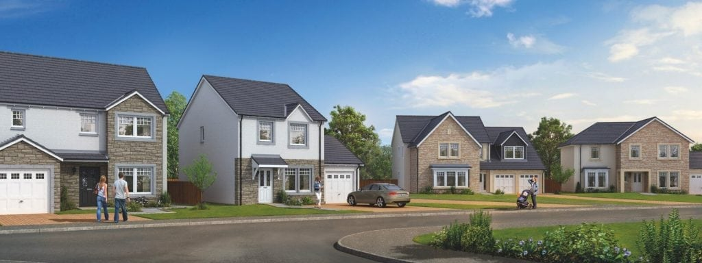 new homes in Aberdeenshire