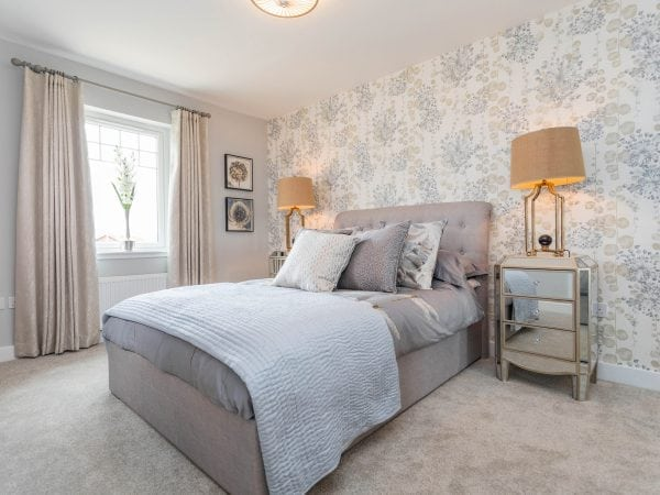 Strathord Park grey bedroom