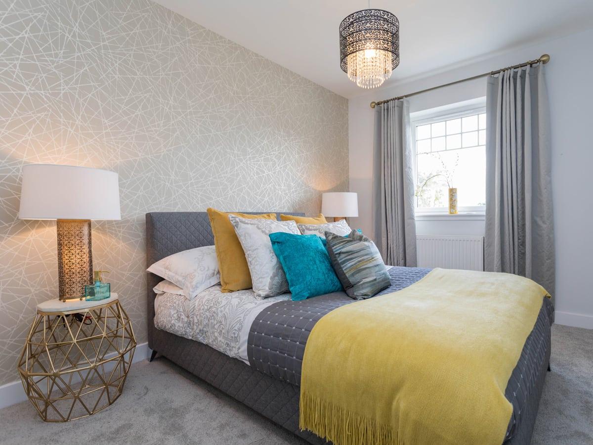 Strathord Park grey bedroom