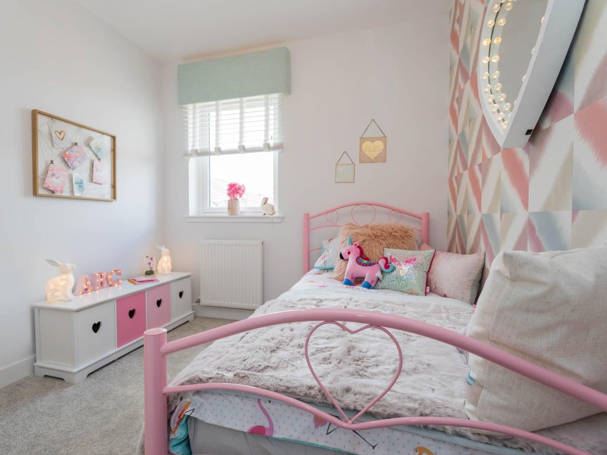 Strathord Park child's bedroom
