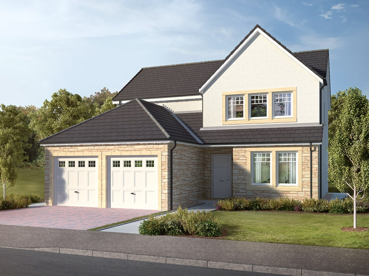 The Balgarvie Four-bedroom detached home in Laurencekirk