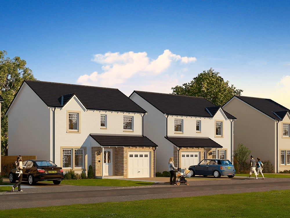 New homes for sale in Stanley, Perthshire