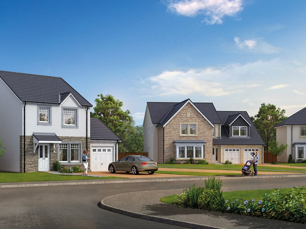 New homes aberdeenshire find your dream home at the for Dream house finder