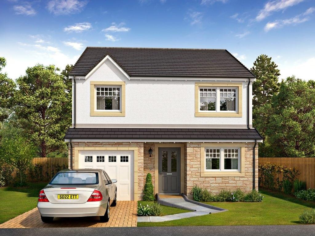 four-bedroom detached home in Stanley