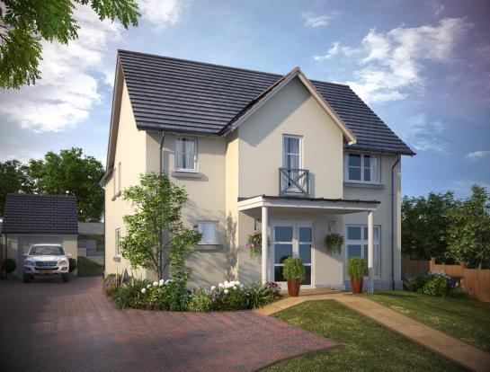 4 Bed Detached Home In Auchterarder The Nairn Muir Homes