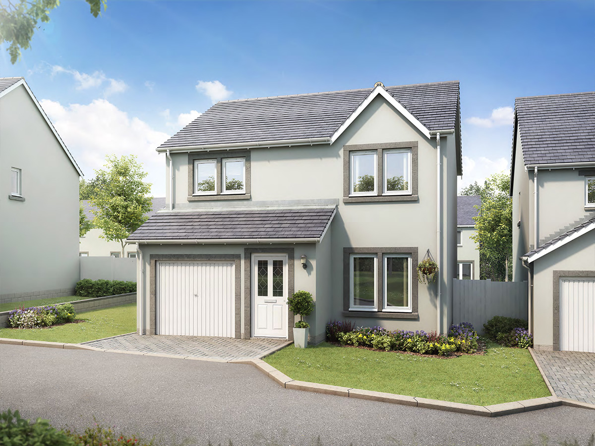 The Cheviot - 3 bedroom detached villa with integrated garage