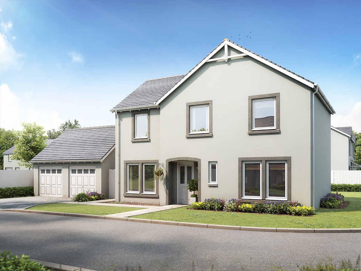 The Lismore - 4 bed detached villa with double detached garage