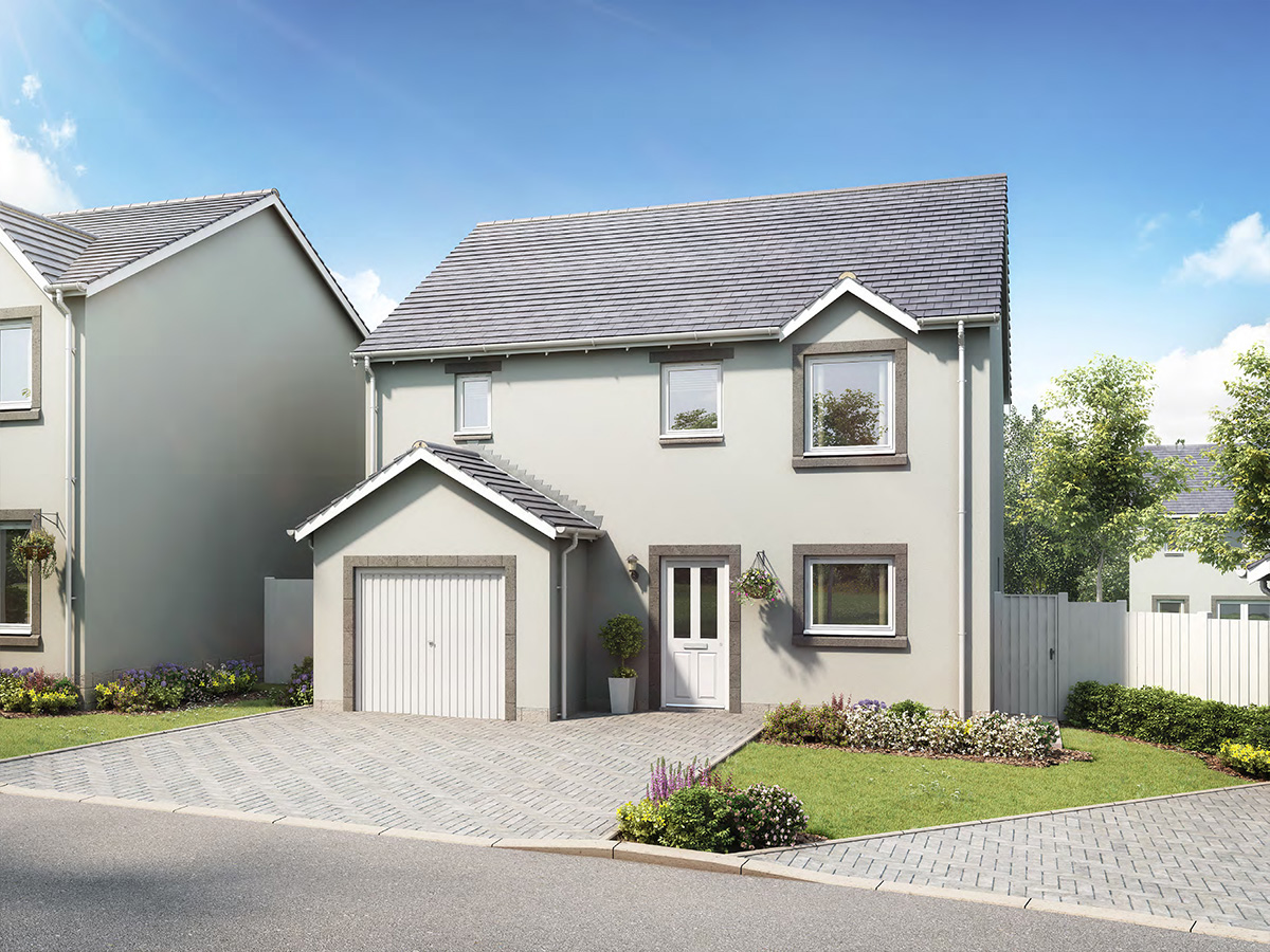 The Wemyss - 4 bedroom detached villa with integrated garage